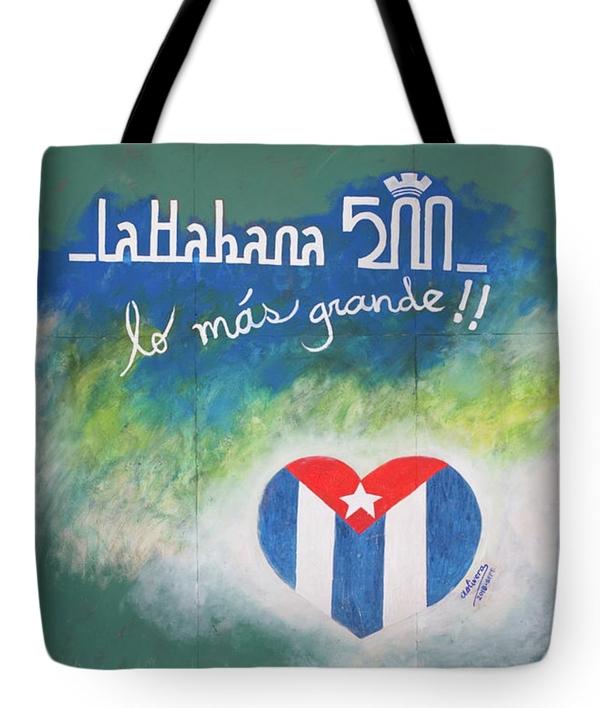 La Habana 500 tote bag